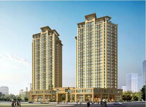 上海东方豪园别墅区建筑规划方案