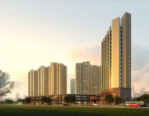 重庆渝北69层五星级宾馆综合楼建筑规划方案